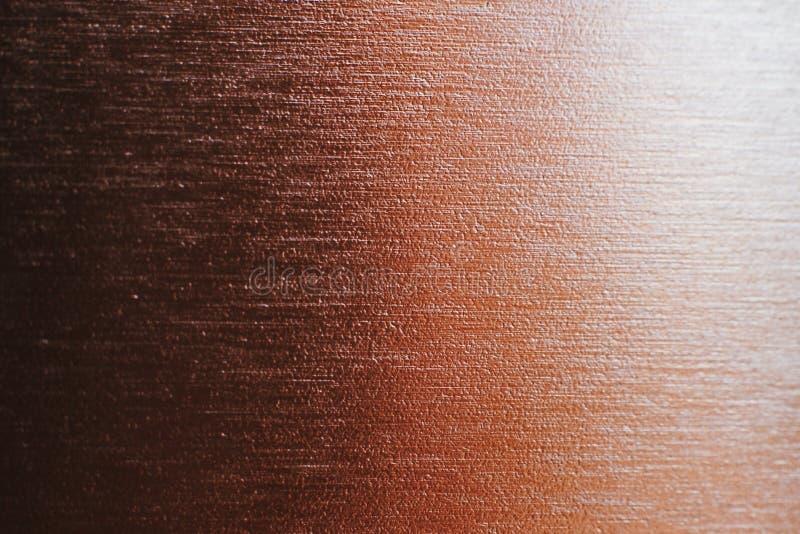 Metallischer Steigungshintergrund, Kupfer lizenzfreie stockfotos