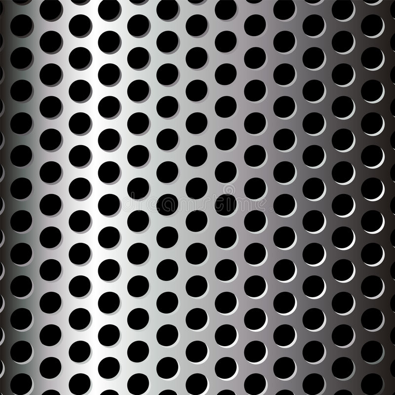 Metallisches Muster stock abbildung