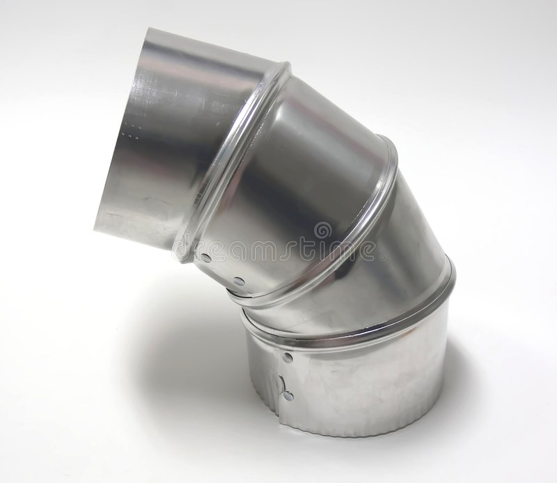 Metallisches Winkelstück stockfotos
