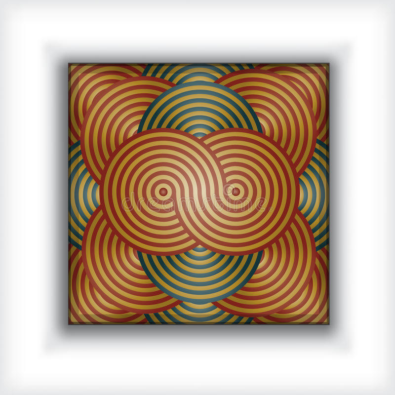 metallisk abstrakt bakgrund royaltyfri illustrationer