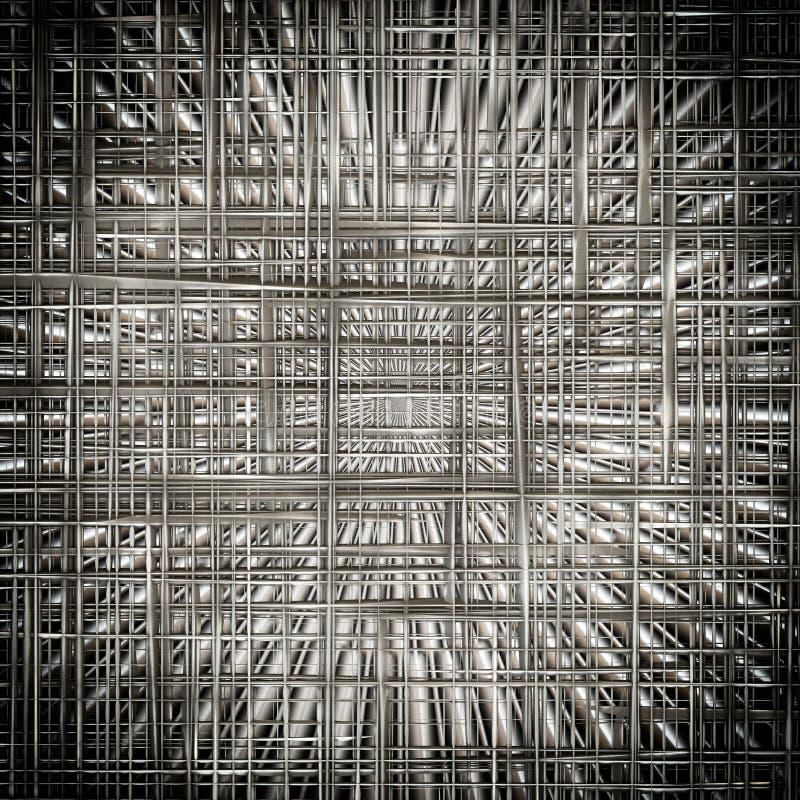 Metallisk bakgrundsmodell fotografering för bildbyråer