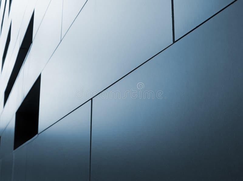 Metallisk cladding royaltyfri foto