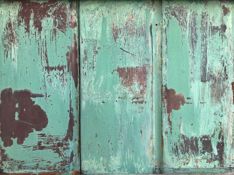 Metallisk gr?n textur eller bakgrund f?r en presentation arkivbild