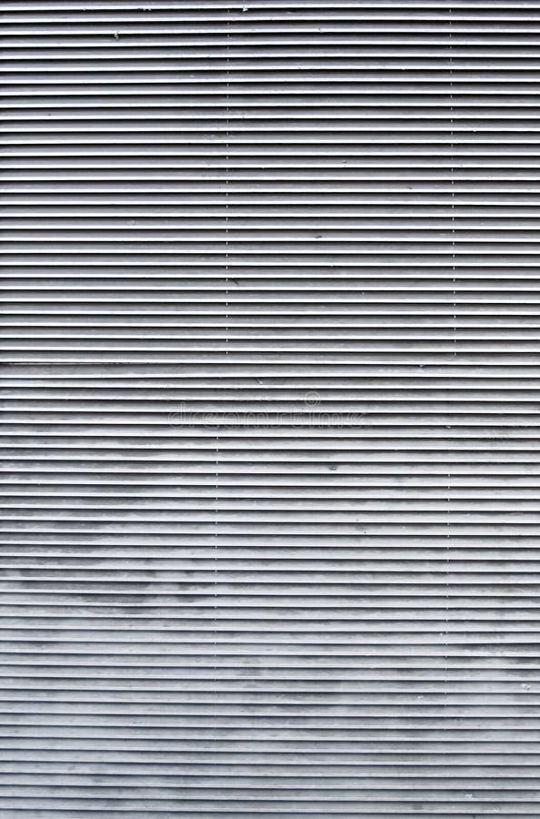 metallisk horisontaljalousie arkivfoto