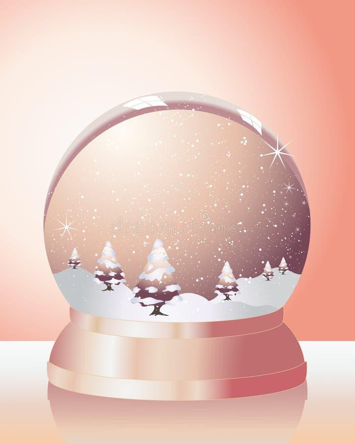 Download Metallisk snow för kupol vektor illustrationer. Illustration av reflexioner - 19784354