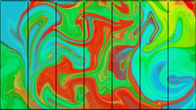 Metallisk st?ng f?r f?rgrik grunge abstrakt bakgrundsmetallplatta vektor f?r bild f?r designelementillustration royaltyfri illustrationer