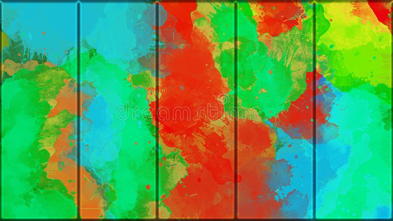 Metallisk st?ng f?r f?rgrik grunge abstrakt bakgrundsmetallplatta vektor f?r bild f?r designelementillustration stock illustrationer