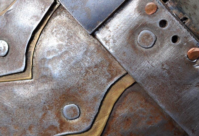 metallisk textur royaltyfria bilder