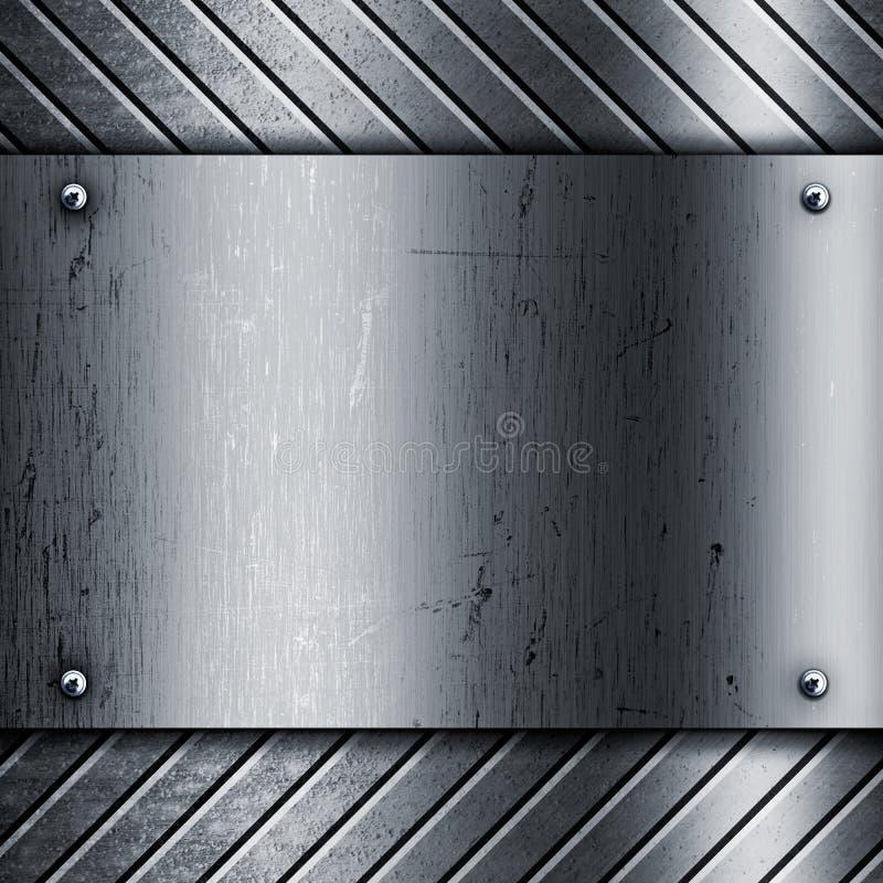metallisk textur för bakgrund royaltyfri illustrationer