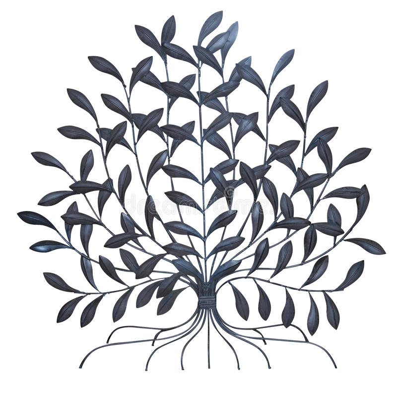 metallisk tree arkivbild