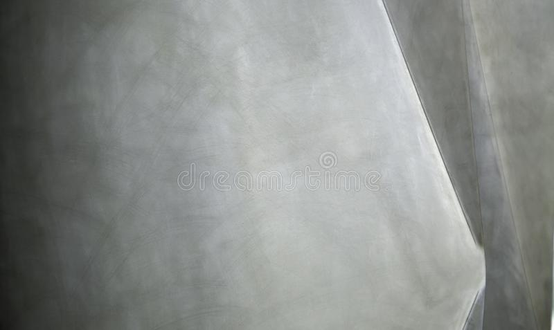 Metallisk yttersidadetalj arkivbild