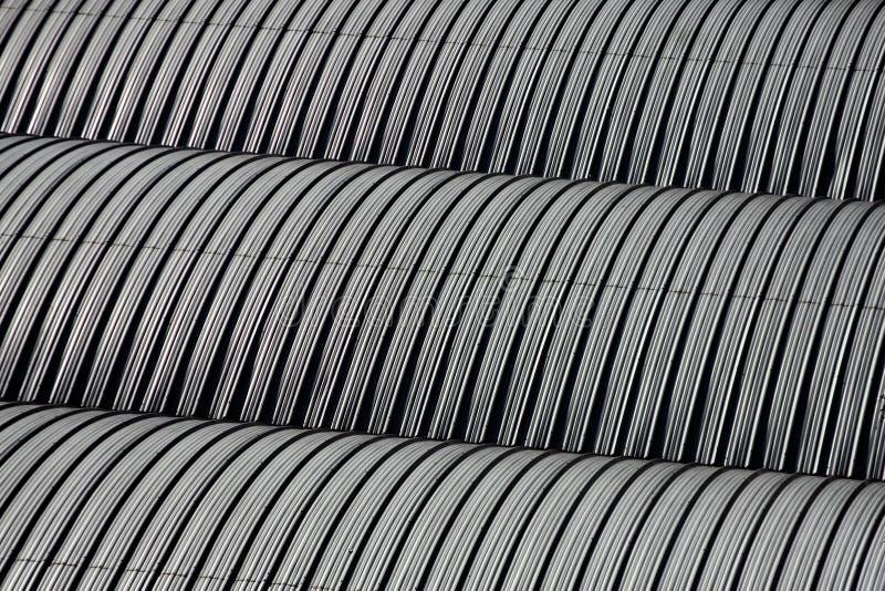 metalliskt tak arkivbild