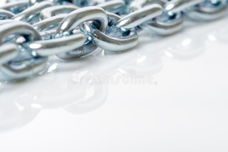 Metallkette stockbild