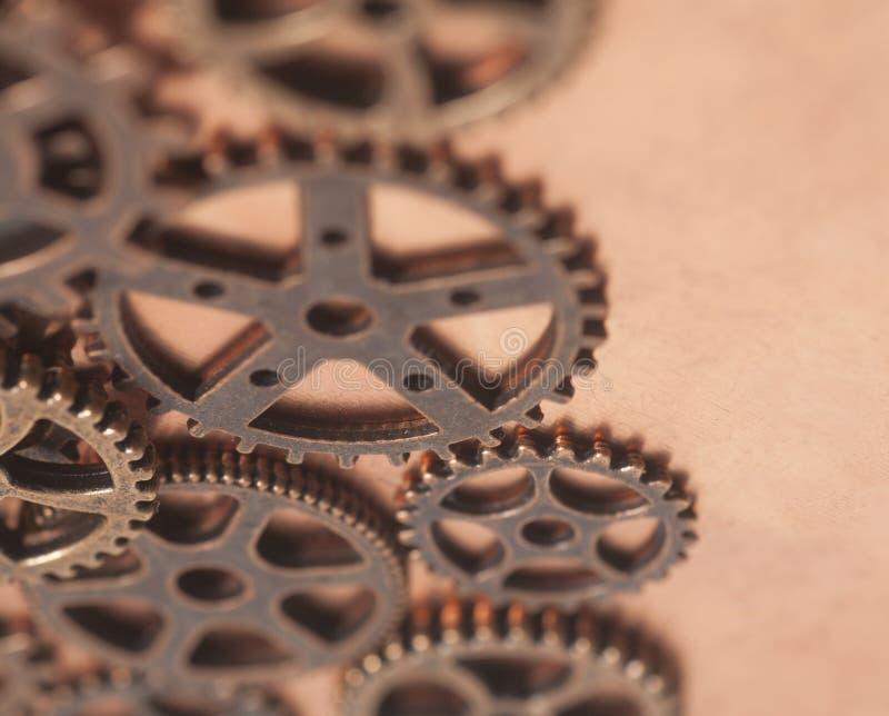 Metallkugghjulhjul royaltyfri bild