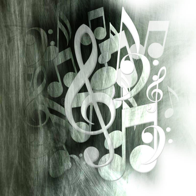 metallmusikrock vektor illustrationer