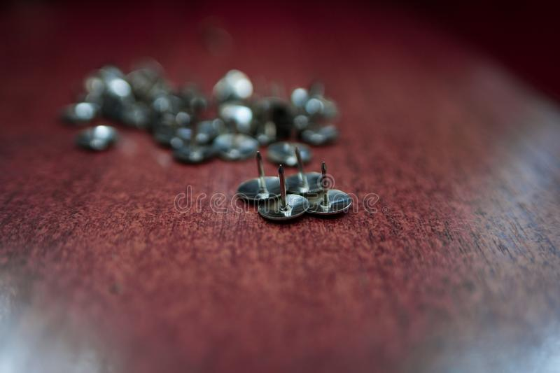 Metallnagel lizenzfreies stockbild