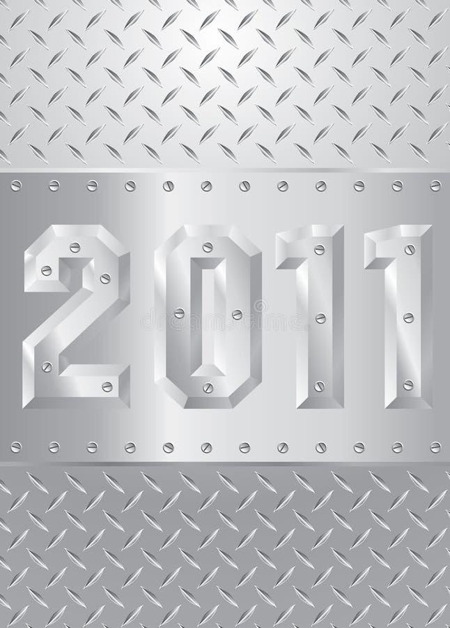 Metallo 2011 illustrazione di stock