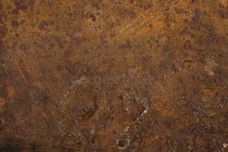 Metallo arrugginito utile come gli ambiti di provenienza o strutture fotografia stock