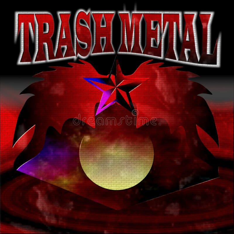 Metallo dei rifiuti immagine stock libera da diritti