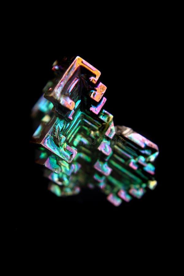 Metallo del bismuto (bismuthium) immagine stock libera da diritti
