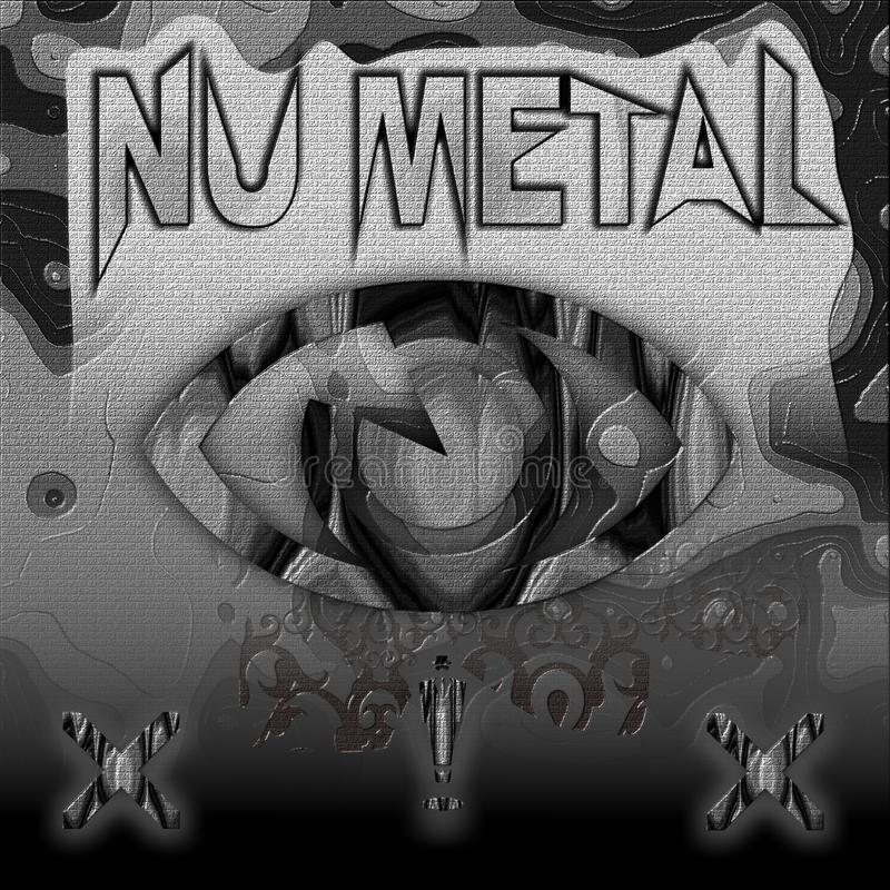 Metallo del NU fotografie stock