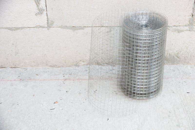 Metallo del reticolato del gesso immagini stock