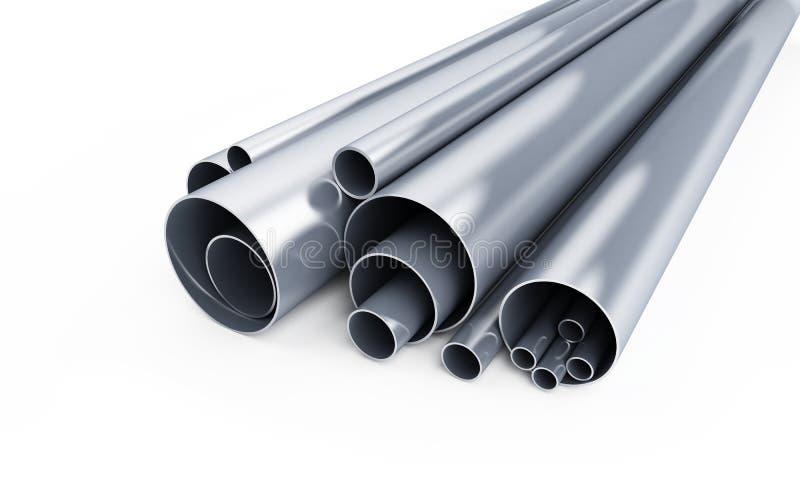 Metallo del tubo immagine stock