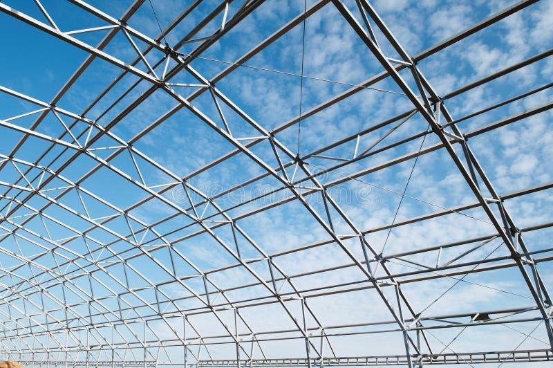 metallo della struttura della costruzione fotografia stock libera da diritti
