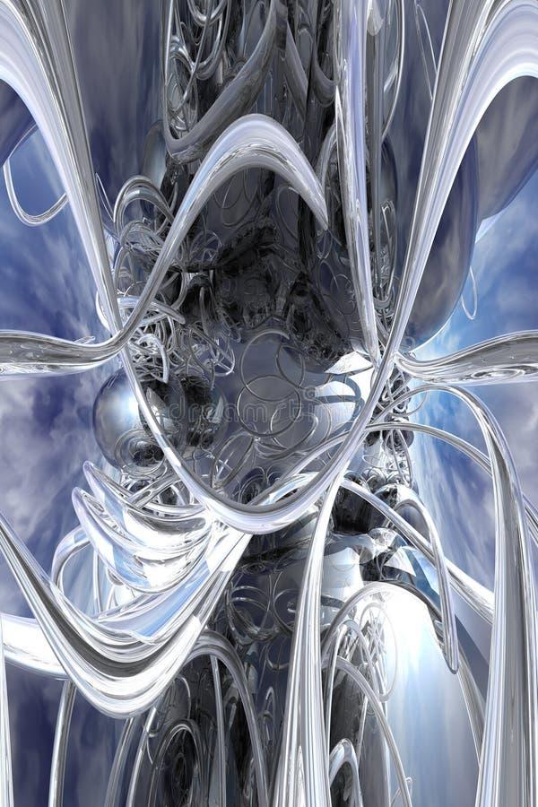 Metallo di fusione illustrazione di stock