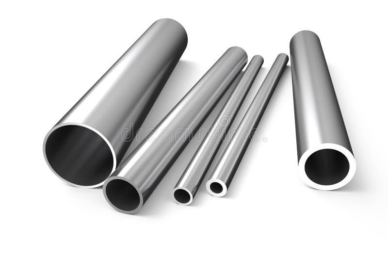 Metallo rotolato, tubo 1 royalty illustrazione gratis