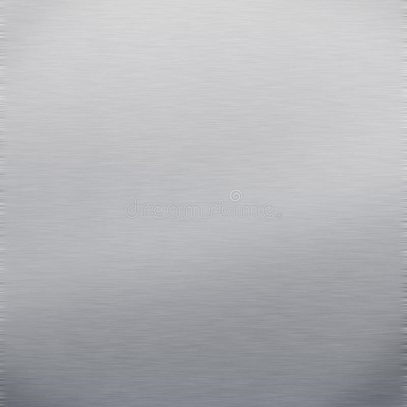 Metallo spazzolato fotografie stock libere da diritti
