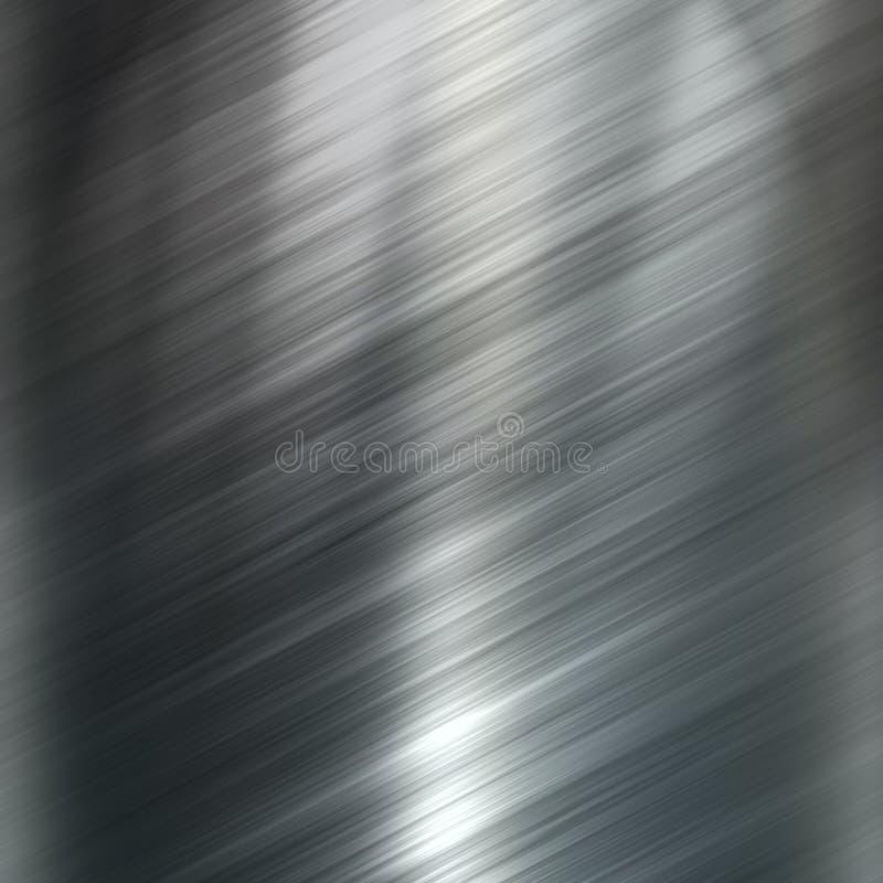 Metallo spazzolato immagine stock libera da diritti