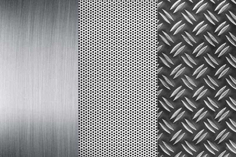 Metallplaten royalty-vrije stock fotografie