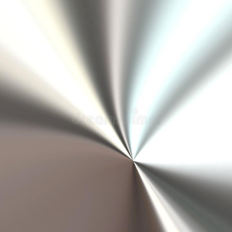 Metallplattenauslegung vektor abbildung