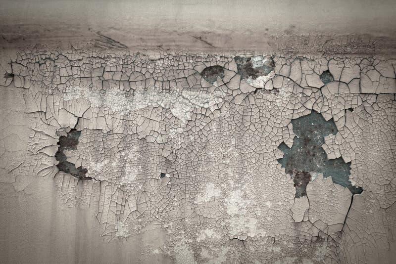Metallplattenbeschaffenheitshintergrund des alten rostigen Farbensprunges lizenzfreie stockbilder
