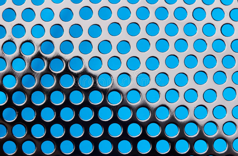 Metallrasterbakgrund arkivfoto