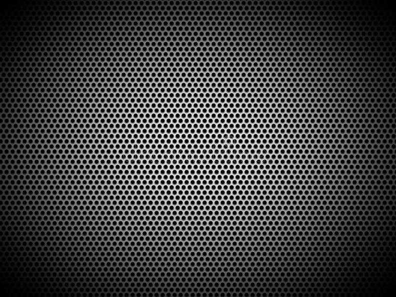 Metallrasterfeldhintergrund vektor abbildung