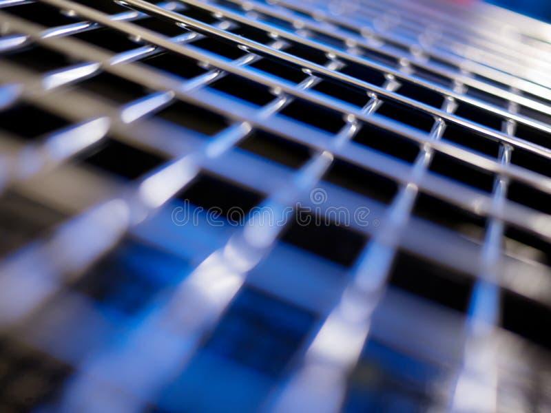 Metallrasterfeldhintergrund lizenzfreies stockbild