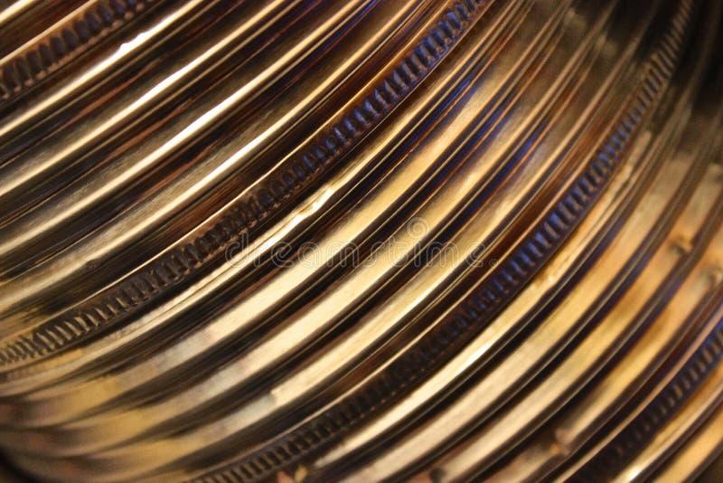 Metallribbing stockbilder