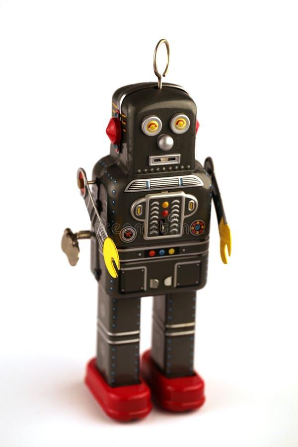 Metallroboter lizenzfreies stockfoto