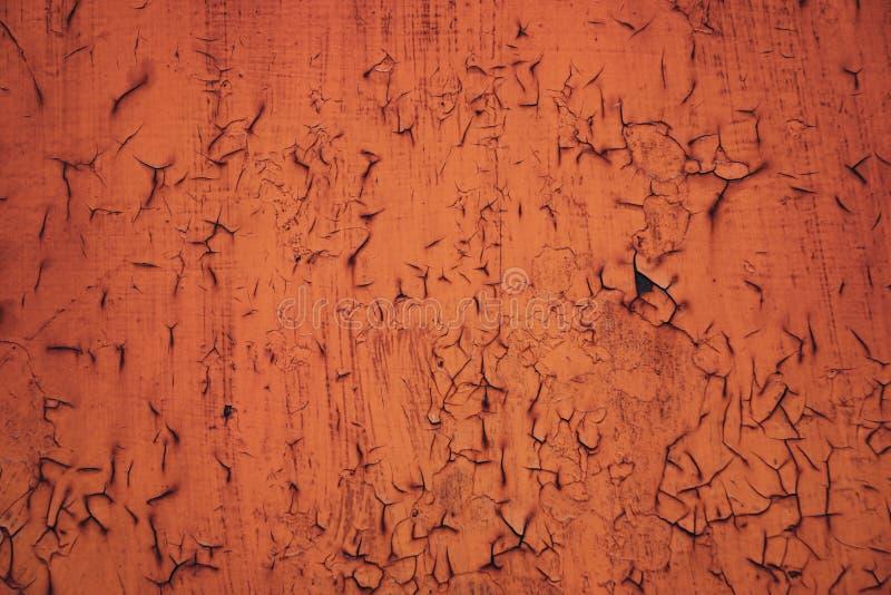 Metallrostbakgrund, gammal textur f?r metallj?rnrost, rost p? yttersidan royaltyfria bilder