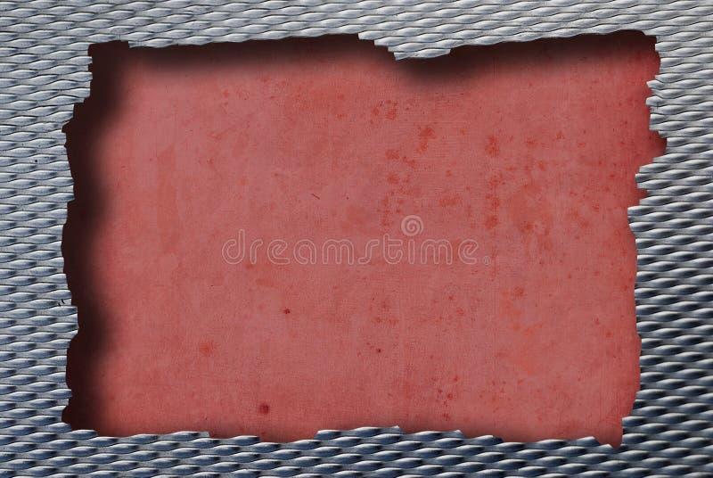 Metallrot lizenzfreie stockbilder