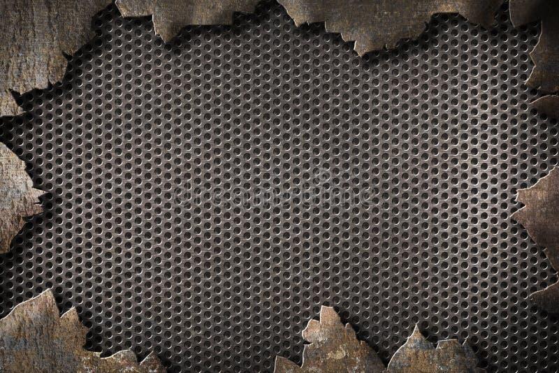 MetallSchmutzhintergrund lizenzfreies stockfoto