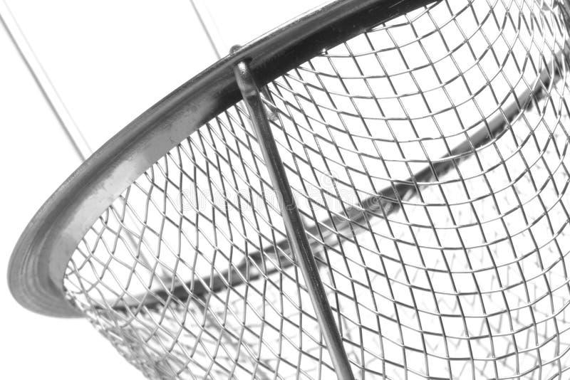Metallsieb getrennt lizenzfreie stockfotografie