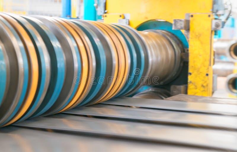 Metallskäraremaskin Affär och industriellt begrepp arkivfoto