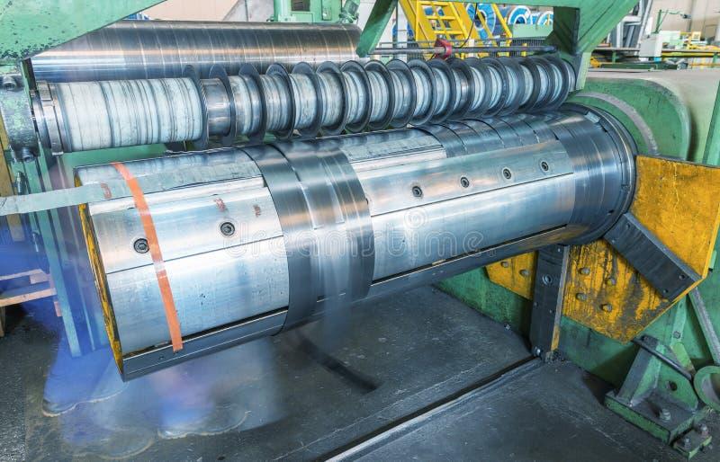 Metallskäraremaskin Affär och industriellt begrepp fotografering för bildbyråer