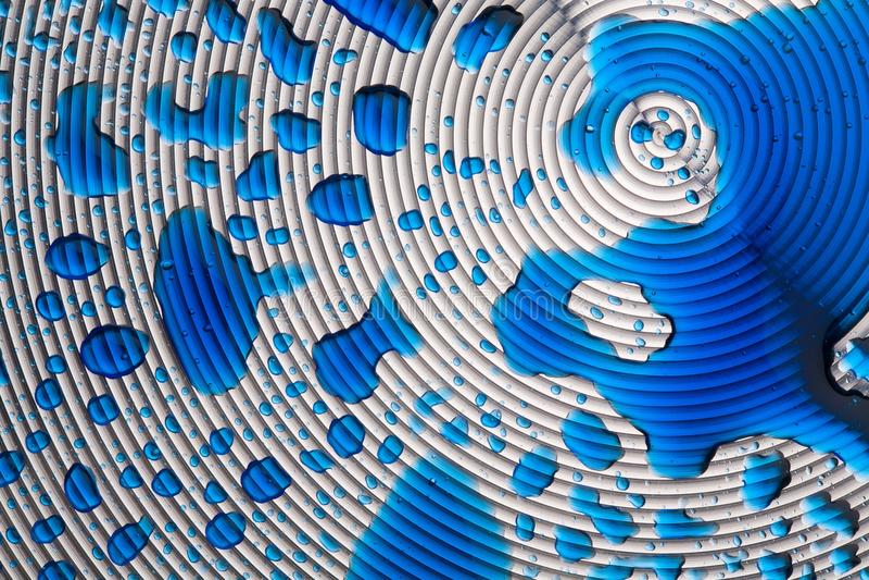 Metallspirale stockbilder