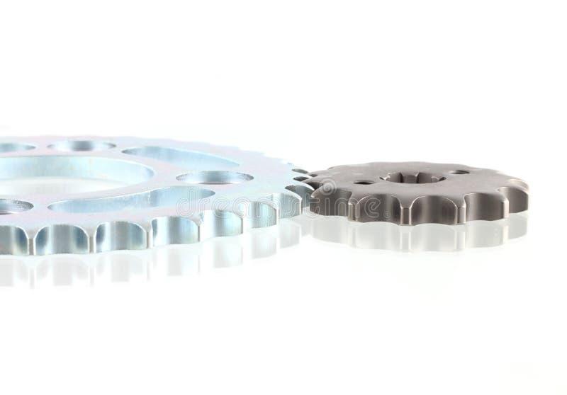 Metallstålkugghjul arkivfoton