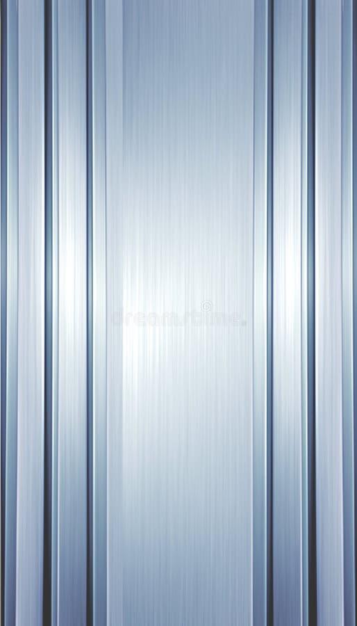 Metallstreifenhintergrund lizenzfreie abbildung