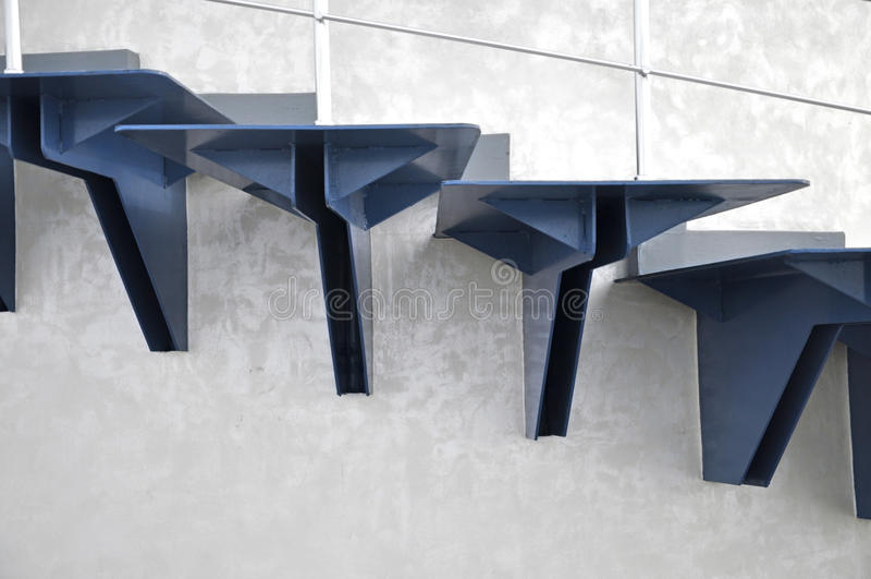 Metallstrichleiter stockfotografie